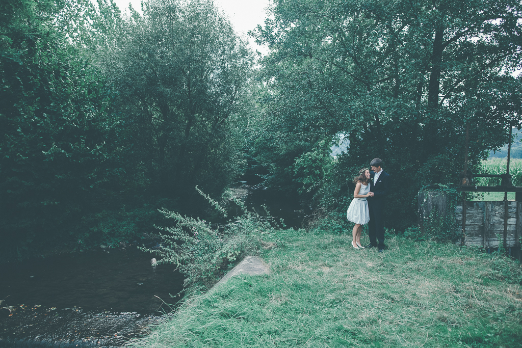 Julia & Mathis Brautpaar Shoot _